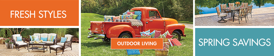 Big Savings on Outdoor Decor and Styles.