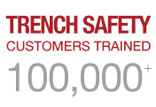 Over 100k Trench Safety Customers Trained